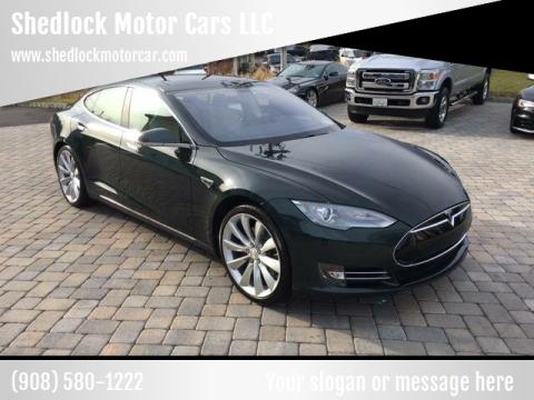 2013 Tesla Model S for sale at Shedlock Motor Cars LLC in Warren NJ