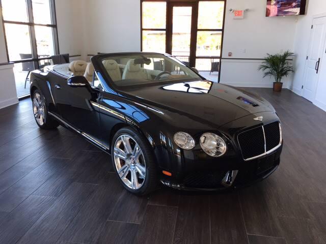 2013 Bentley Continental GTC V8 In Warren NJ - Shedlock Motor Cars LLC