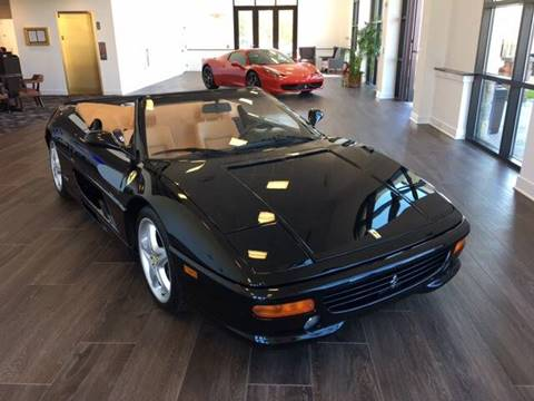 1999 Ferrari 355 for sale at Shedlock Motor Cars LLC in Warren NJ