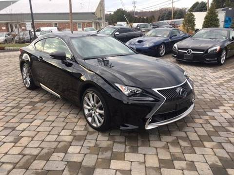 2015 Lexus RC 350 for sale at Shedlock Motor Cars LLC in Warren NJ