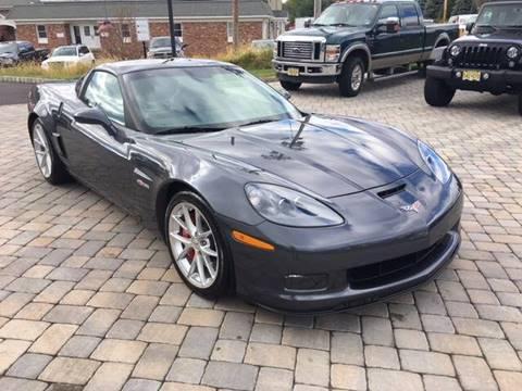 2012 Chevrolet Corvette for sale at Shedlock Motor Cars LLC in Warren NJ