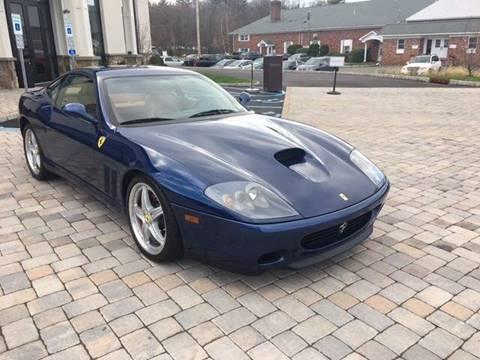 2003 Ferrari 575M for sale at Shedlock Motor Cars LLC in Warren NJ