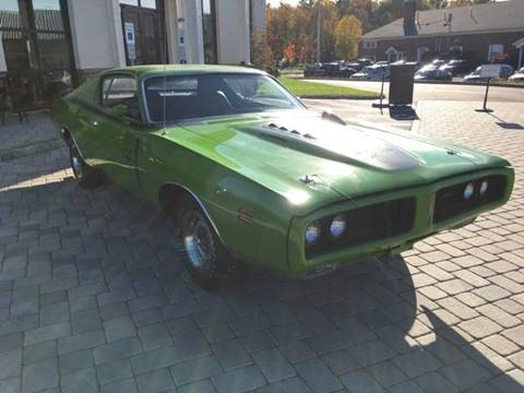 1971 Dodge Charger for sale at Shedlock Motor Cars LLC in Warren NJ