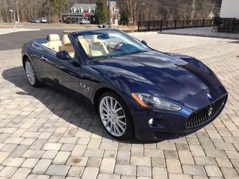 2010 Maserati GranTurismo for sale at Shedlock Motor Cars LLC in Warren NJ