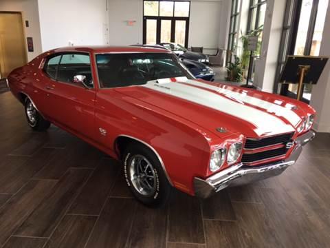 1970 Chevrolet Chevelle Malibu for sale at Shedlock Motor Cars LLC in Warren NJ
