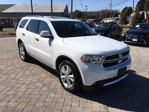 2013 Dodge Durango for sale at Shedlock Motor Cars LLC in Warren NJ
