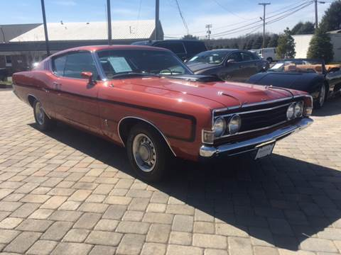 1969 Ford Torino for sale at Shedlock Motor Cars LLC in Warren NJ