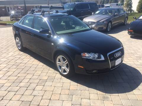 2007 Audi A4 for sale at Shedlock Motor Cars LLC in Warren NJ