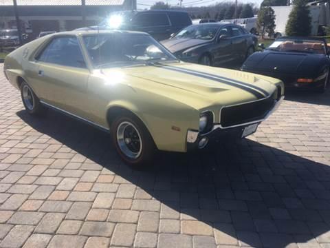 1969 AMC AMX for sale at Shedlock Motor Cars LLC in Warren NJ