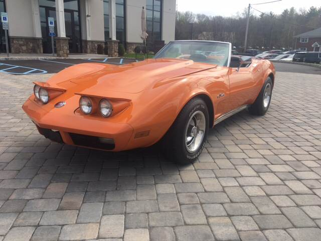 1974 Chevrolet Corvette for sale at Shedlock Motor Cars LLC in Warren NJ