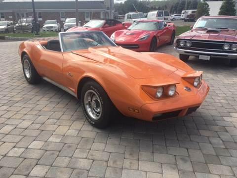 1974 Chevrolet Corvette for sale at Shedlock Motor Cars LLC in Warren NJ