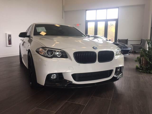 2014 BMW 5 Series for sale at Shedlock Motor Cars LLC in Warren NJ