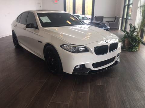 2014 BMW 5 Series for sale at Shedlock Motor Cars LLC in Warren NJ