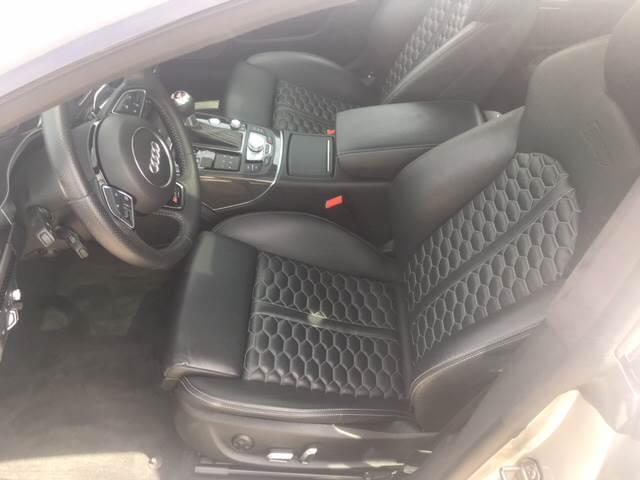 2015 Audi RS 7 for sale at Shedlock Motor Cars LLC in Warren NJ