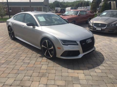 2015 Audi RS 7 for sale at Shedlock Motor Cars LLC in Warren NJ