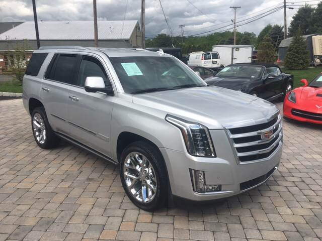 2016 Cadillac Escalade for sale at Shedlock Motor Cars LLC in Warren NJ