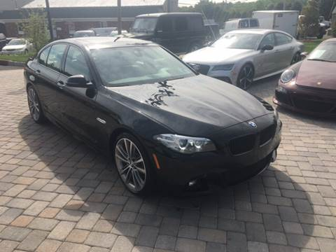 2015 BMW 5 Series for sale at Shedlock Motor Cars LLC in Warren NJ