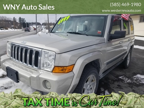 2008 Jeep Commander for sale in Macedon, NY