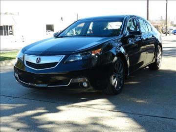 2013 Acura TL for sale in Dallas, TX