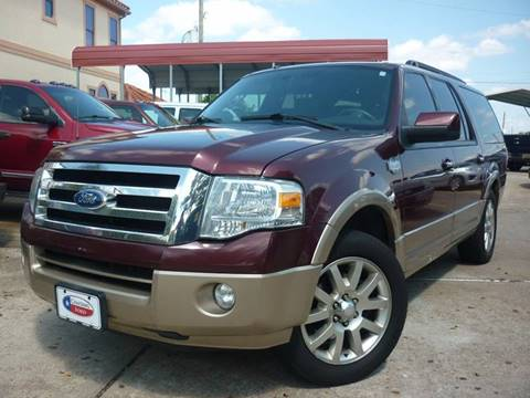 2011 Ford Expedition EL for sale in Houston, TX