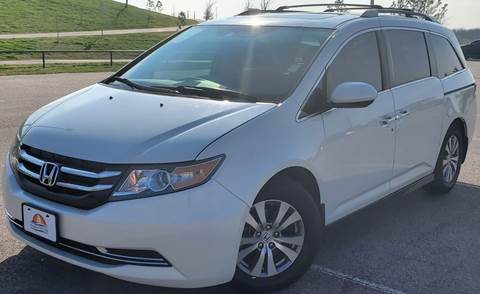 2016 Honda Odyssey for sale at AUTO DIRECT in Houston TX