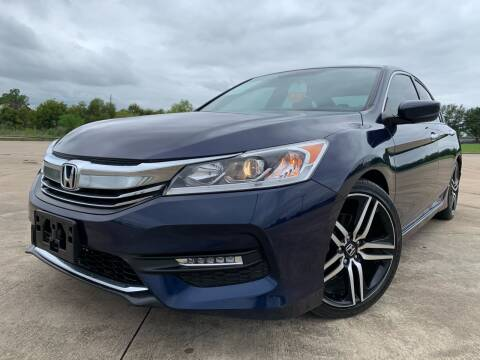2016 Honda Accord for sale at AUTO DIRECT Bellaire in Houston TX
