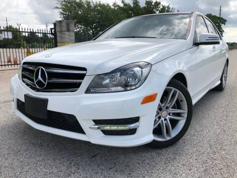 2014 Mercedes-Benz C-Class for sale at AUTO DIRECT in Houston TX