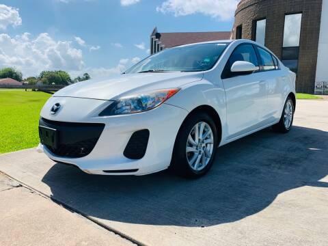 2012 Mazda MAZDA3 for sale at AUTO DIRECT Bellaire in Houston TX
