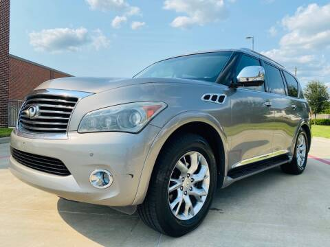 2012 Infiniti QX56 for sale at AUTO DIRECT in Houston TX
