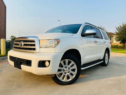 2010 Toyota Sequoia for sale at AUTO DIRECT in Houston TX