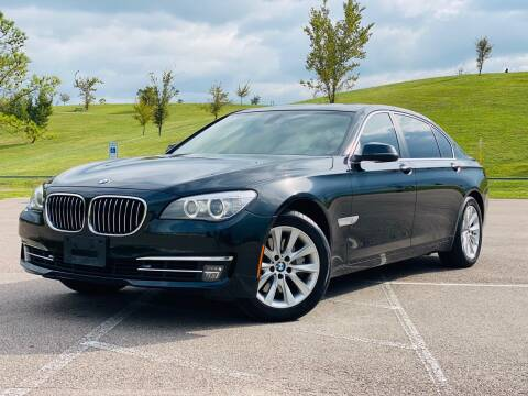 2013 BMW 7 Series for sale at AUTO DIRECT in Houston TX