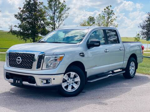 2017 Nissan Titan for sale at AUTO DIRECT in Houston TX