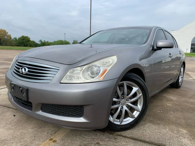 2007 Infiniti G35 for sale at AUTO DIRECT Bellaire in Houston TX