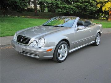 2003 Mercedes-Benz CLK for sale in Portland, OR
