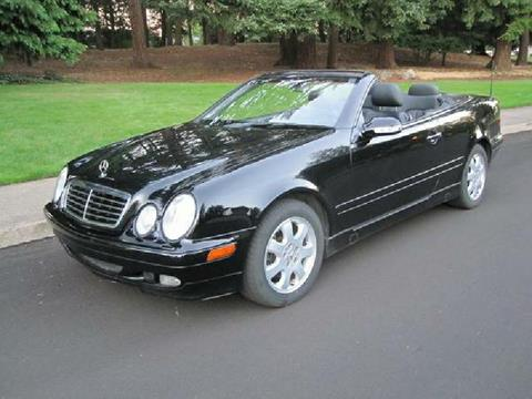 2002 Mercedes-Benz CLK for sale in Portland, OR