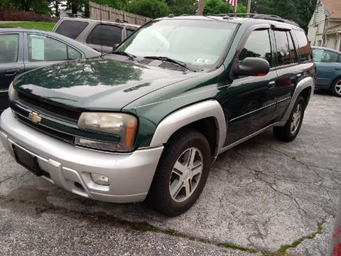 2005 Chevrolet TrailBlazer for sale at LAUER BROTHERS SOUTH in York PA