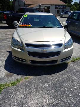 2011 Chevrolet Malibu for sale at LAUER BROTHERS SOUTH in York PA