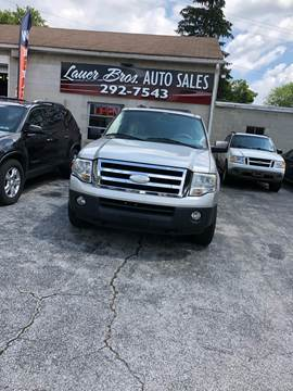 2007 Ford Expedition EL for sale at LAUER BROTHERS SOUTH in York PA