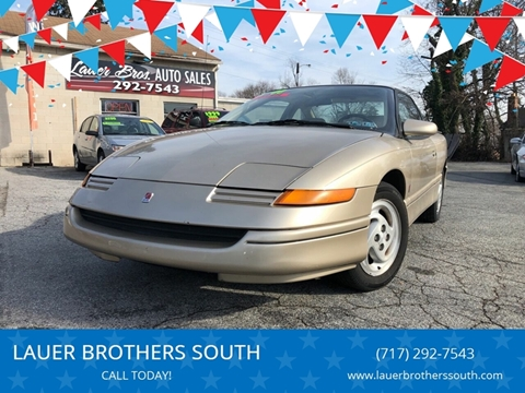 1994 Saturn S-Series for sale at LAUER BROTHERS SOUTH in York PA