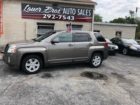 2011 GMC Terrain for sale at LAUER BROTHERS SOUTH in York PA