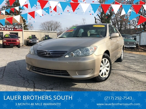 2006 Toyota Camry for sale at LAUER BROTHERS SOUTH in York PA