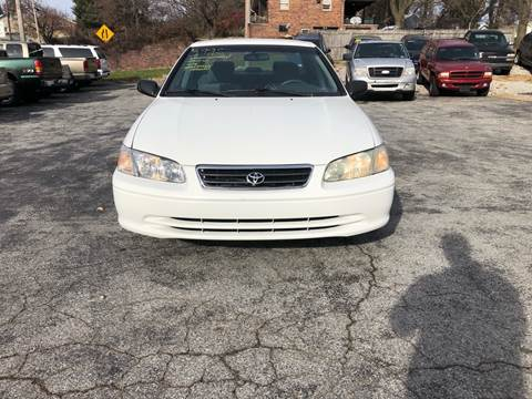 2001 Toyota Camry for sale at LAUER BROTHERS SOUTH in York PA