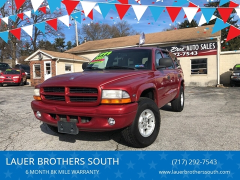 1999 Dodge Durango for sale at LAUER BROTHERS SOUTH in York PA