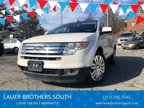 2010 Ford Edge for sale at LAUER BROTHERS SOUTH in York PA