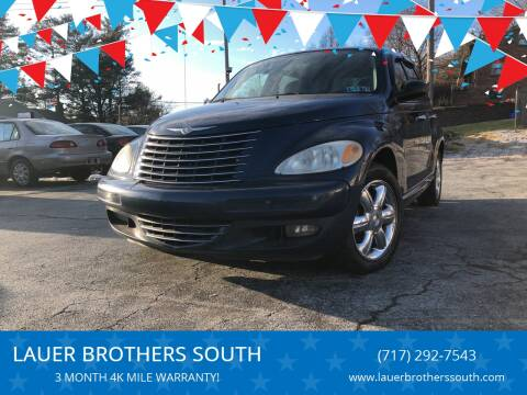 2004 Chrysler PT Cruiser for sale at LAUER BROTHERS SOUTH in York PA