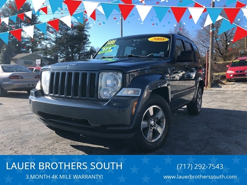 2008 Jeep Liberty for sale at LAUER BROTHERS SOUTH in York PA