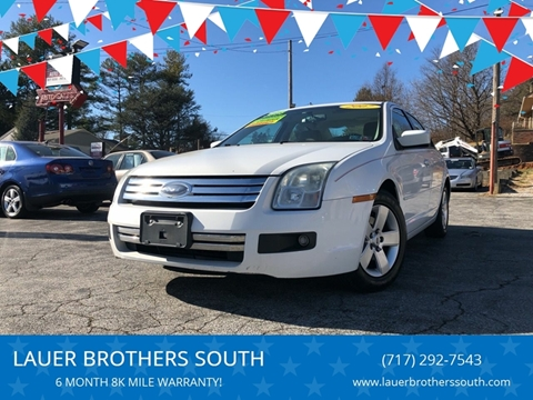 2007 Ford Fusion for sale at LAUER BROTHERS SOUTH in York PA