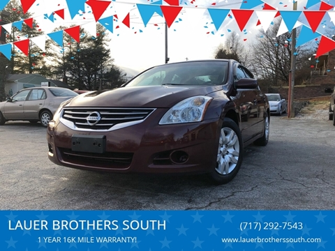 2010 Nissan Altima for sale at LAUER BROTHERS SOUTH in York PA