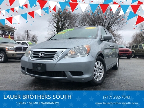 2010 Honda Odyssey for sale at LAUER BROTHERS SOUTH in York PA