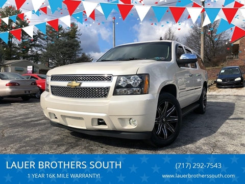 2011 Chevrolet Suburban for sale at LAUER BROTHERS SOUTH in York PA